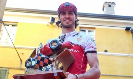 "Antonio Giovinazzi z ""Trofeo Bandini"""