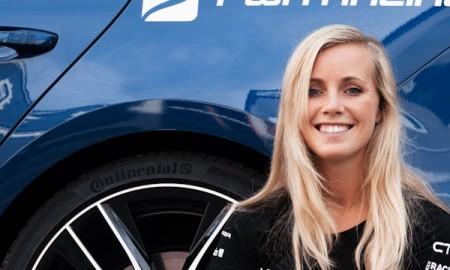 Mikaela Åhlin-Kottulinsky testuje opony Extreme E Continentala