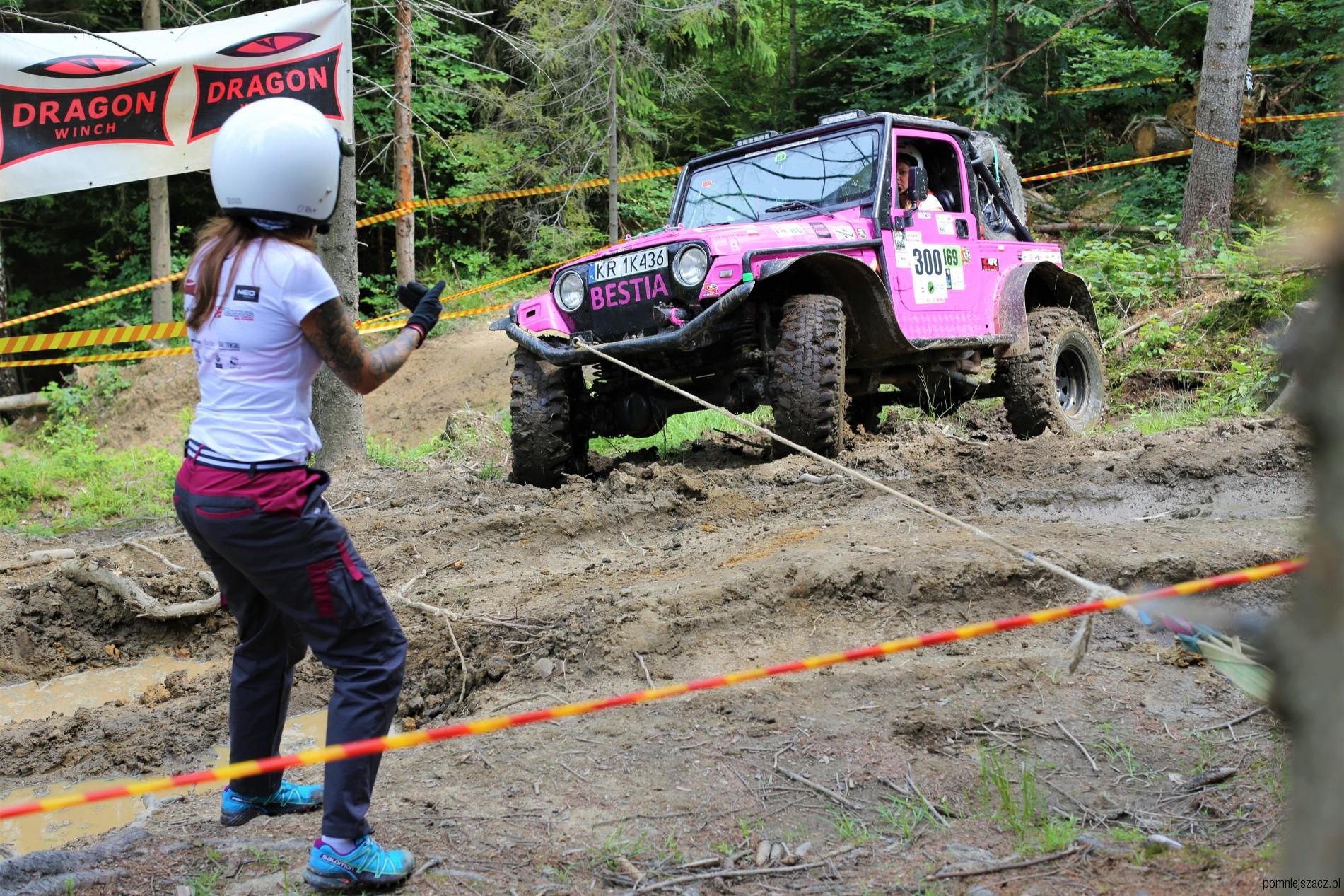 Off-road po kobiecemu - Women's Challenge 4x4