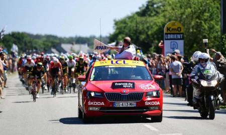 Skoda po raz 16. sponsorem Tour de France