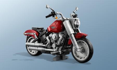 Harley-Davidson Fat Boy od LEGO