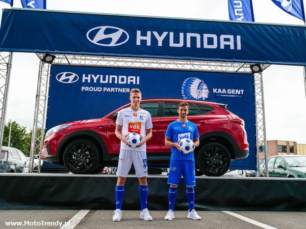 Hyundai partnerem klubu piłkarskiego KAA Gent