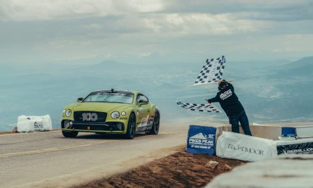 Bentley Continental GT z rekordem Pikes Peak