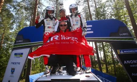 Tänak i Järveoja zwycięzcami Rajdu Finlandii