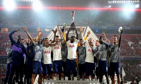 Tottenham Hotspur zdobywa puchar turnieju Audi Cup 2019