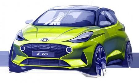 Hyundai i10 – pierwszy szkic