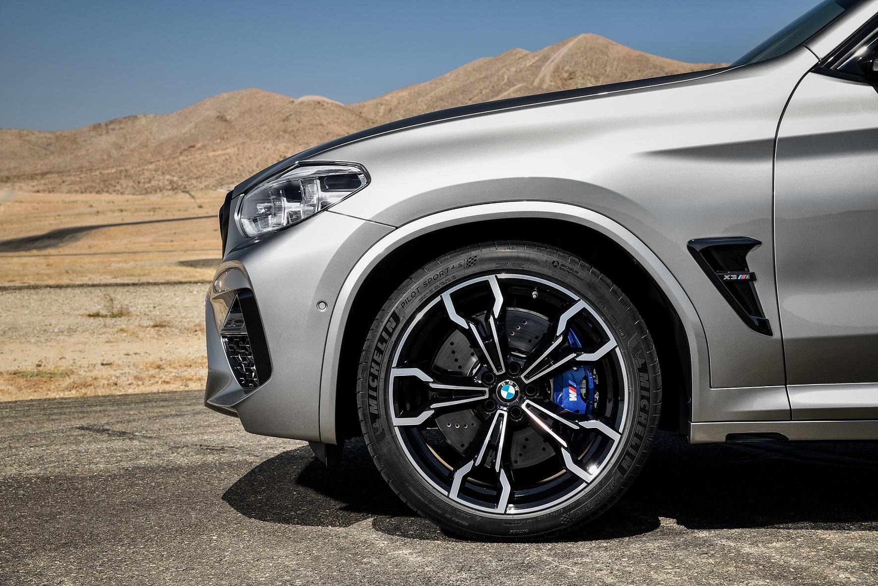 Michelin Pilot Sport 4S na wyposażeniu BMW X3 M oraz X4 M