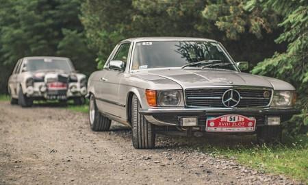 Zabytkowe Mercedesy na wystawie MotoClassic Wrocław 2019