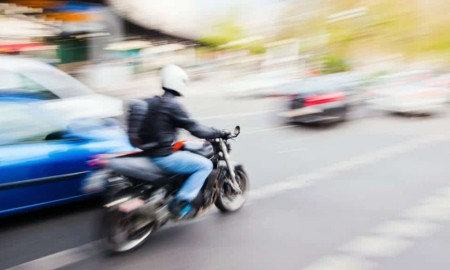 Zakończył sezon motocyklowy tracąc prawo jazdy