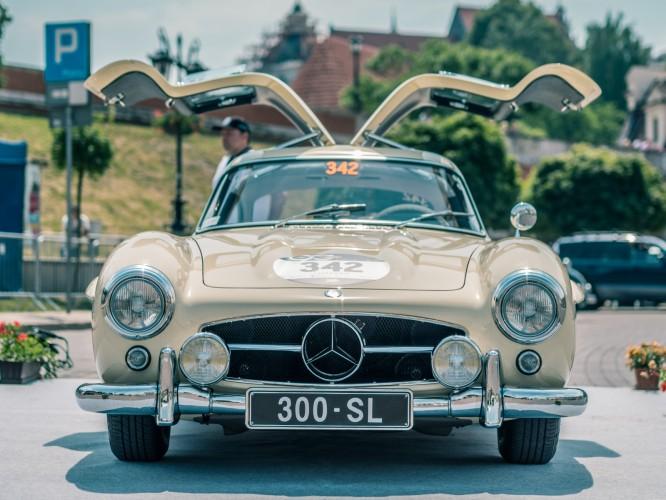 IV Zlot Miłośniczek Zabytkowych Mercedesów