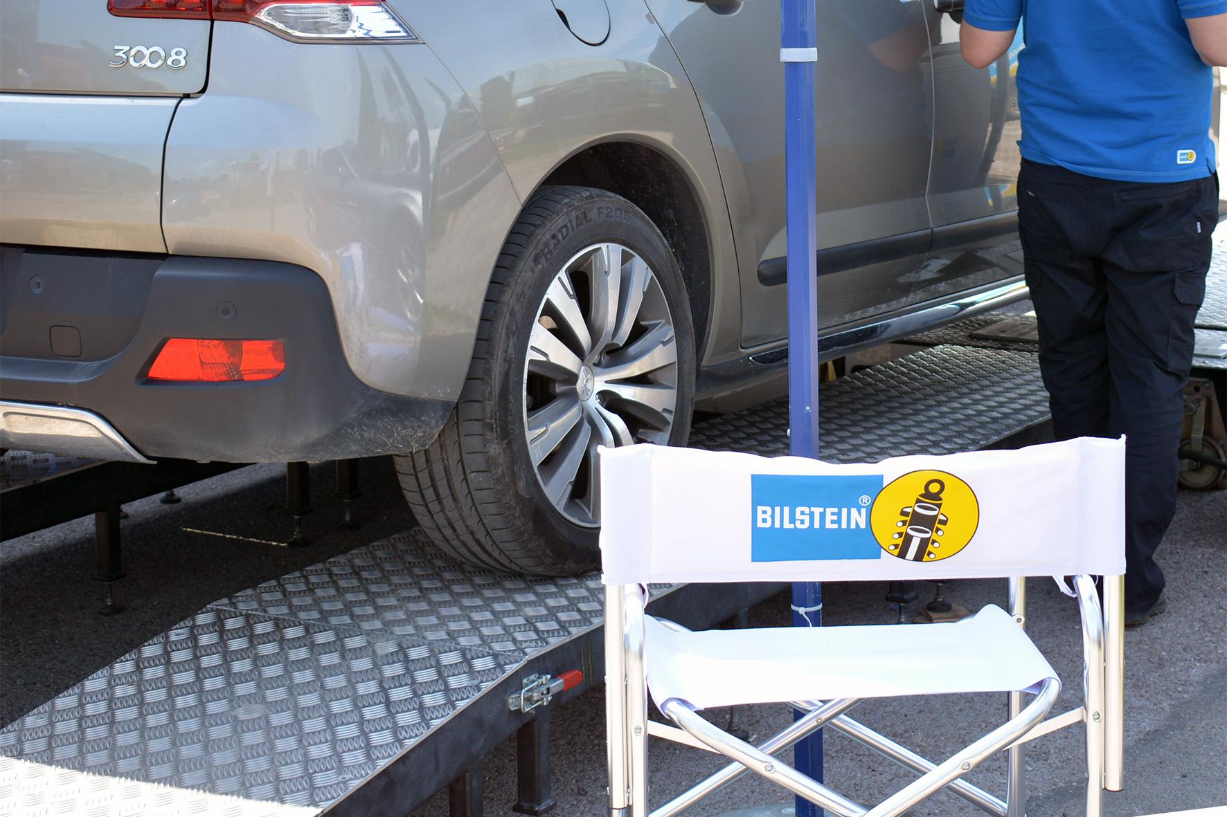 Mobilny tester zawieszenia Bilstein znów w akcji