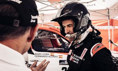 Marc Coma pilotem Fernando Alonso