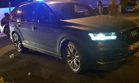 Odzyskane skradzione na terenie Niemiec Audi SQ7
