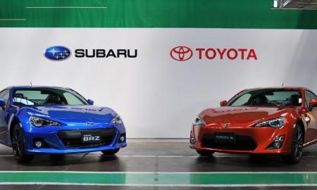 Toyota i Subaru – razem