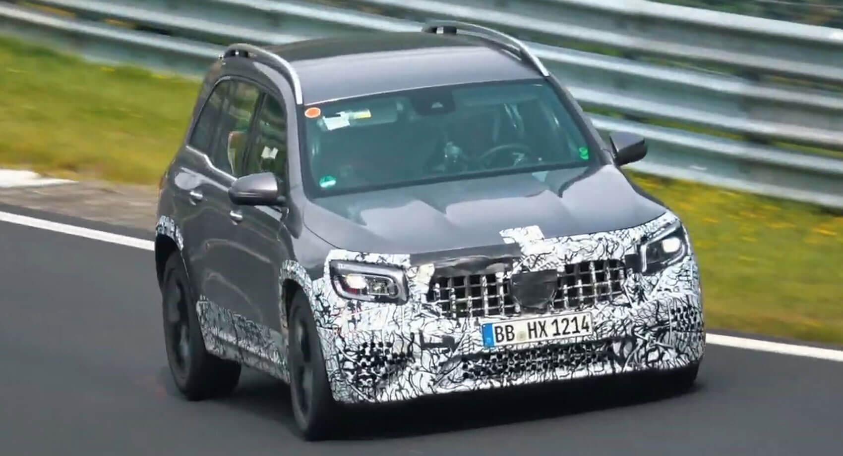 Mercedes-AMG GLB 45 S w testach