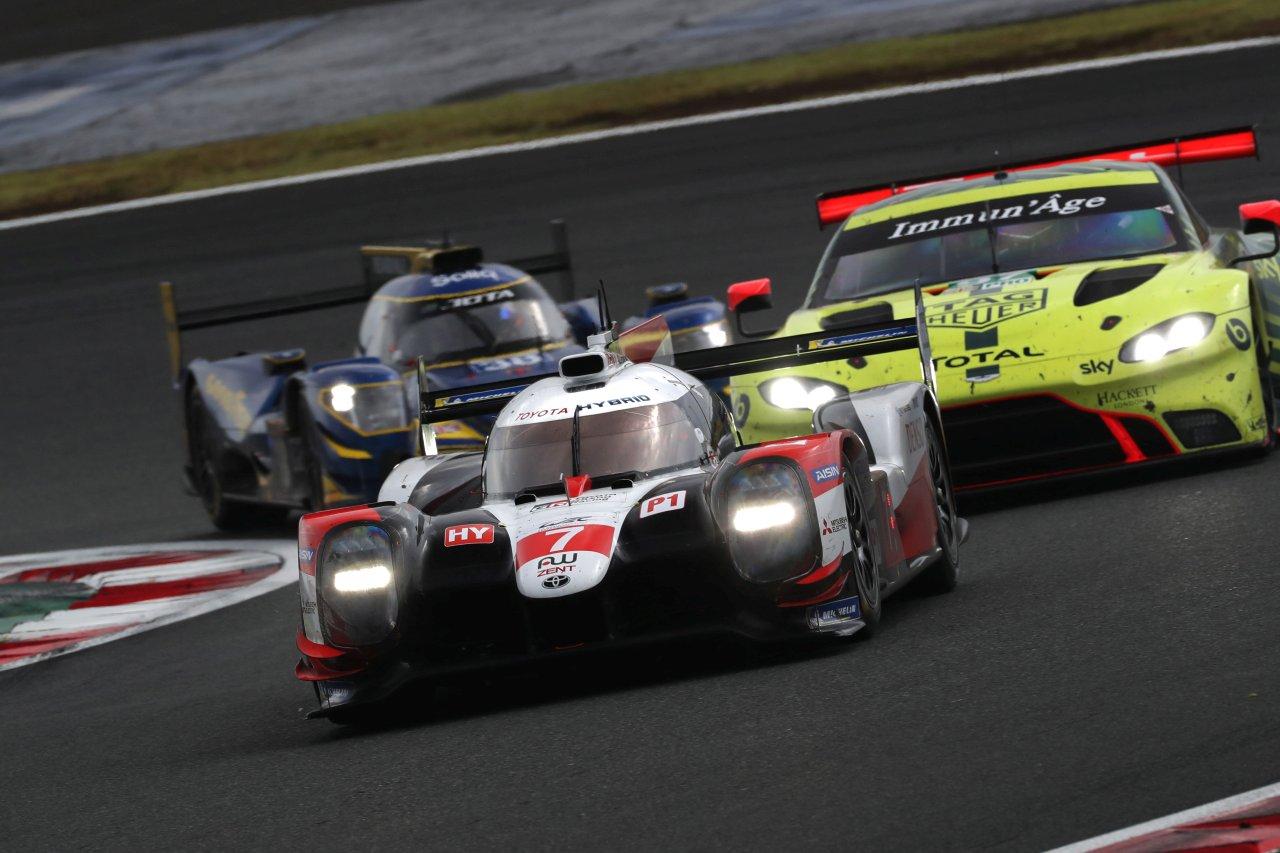 FIA WEC: Podwójne zwycięstwo Toyoty w Japonii