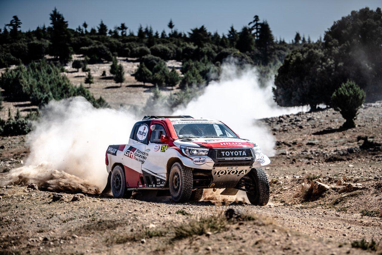 Zespół Toyota Gazoo Racing zwycięża w Rajdzie Maroka