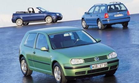 Odliczanie do premiery nowego VW Golfa - Golfy II, III i IV