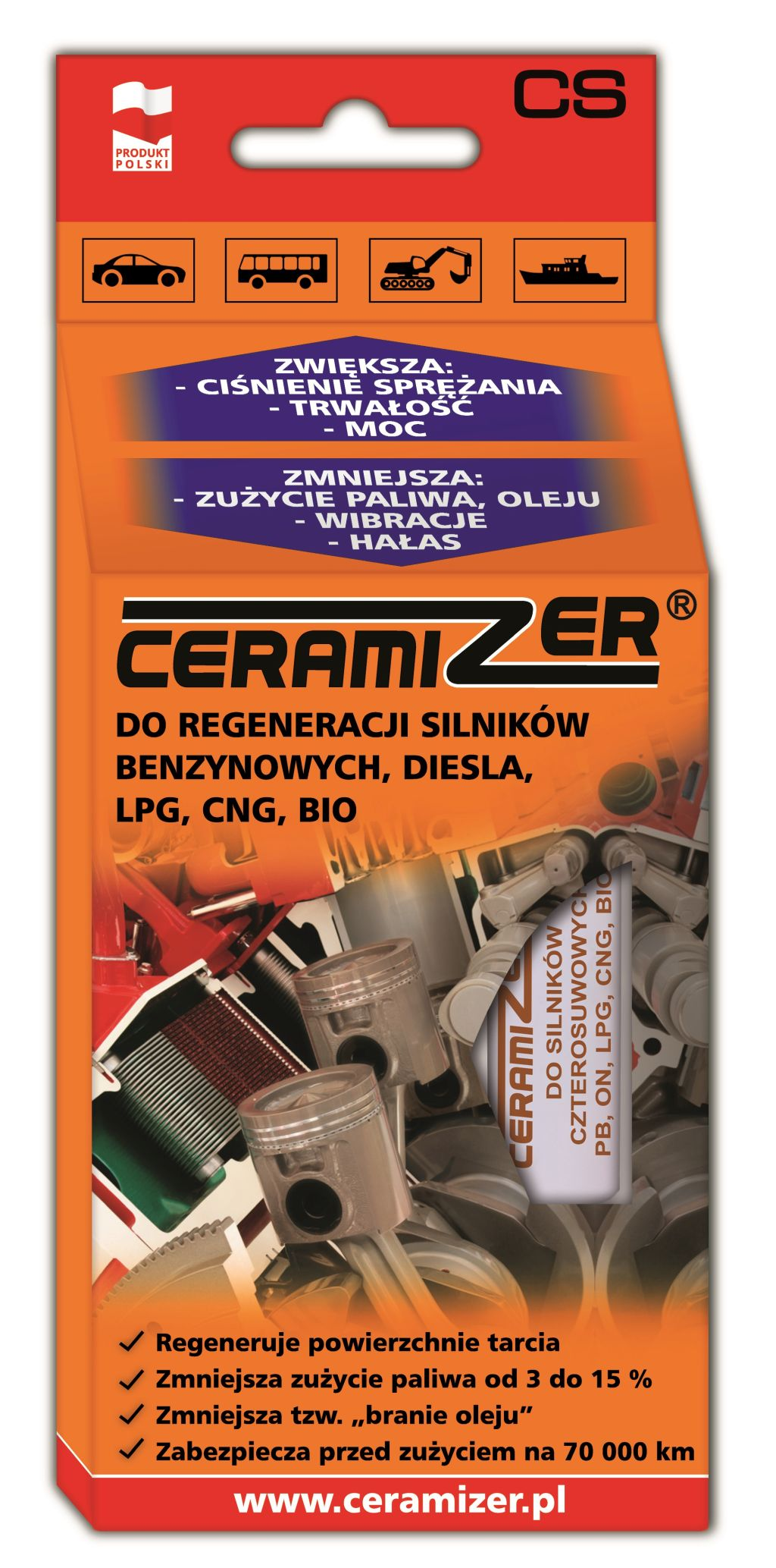 Ceramizer CS – Zregeneruj silnik swojego samochodu !