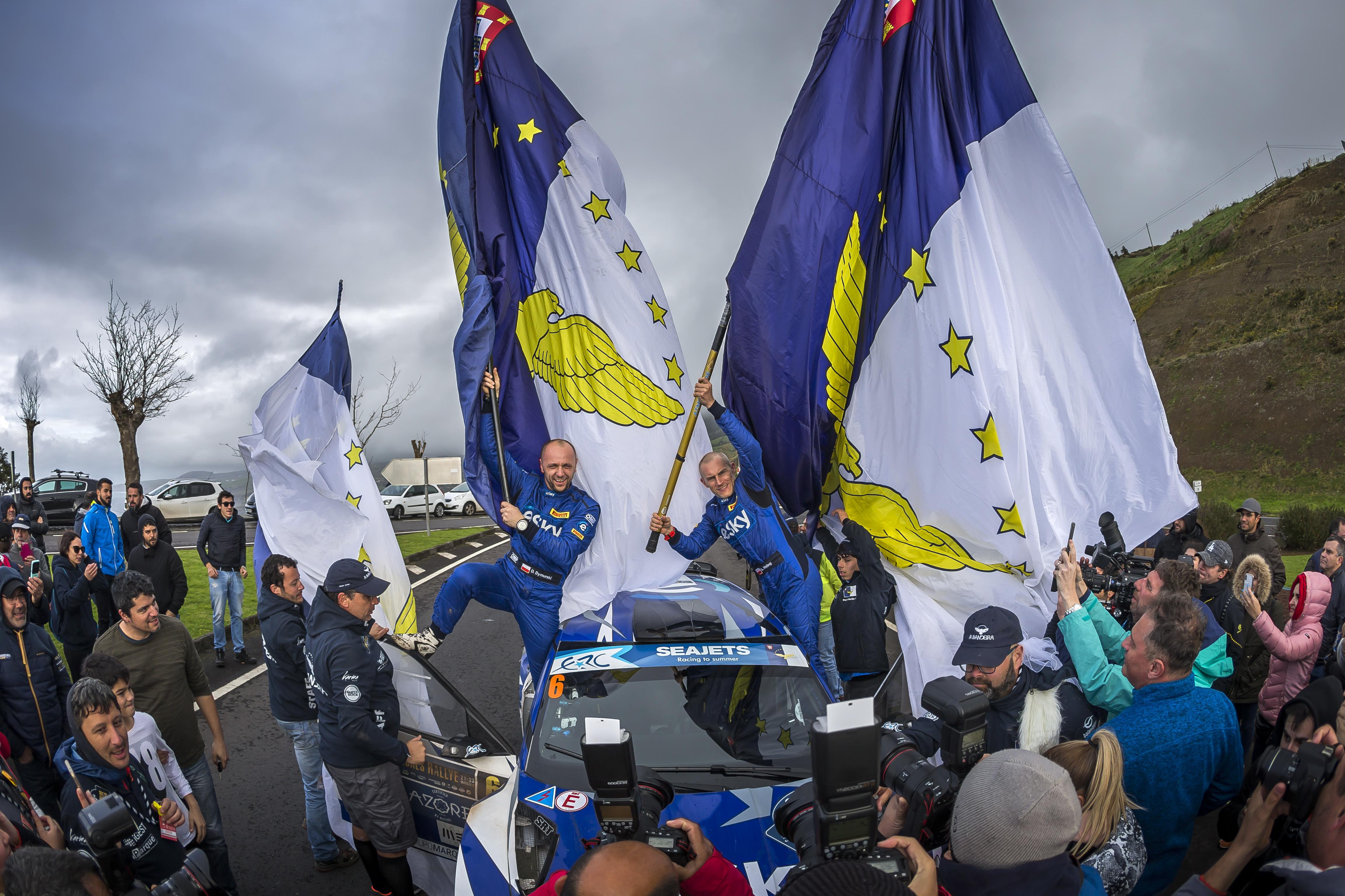 Habaj i Dymurski na trzecim miejscu w rajdowych mistrzostwach Europy
