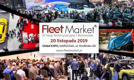Targi Fleet Market 2019 – spotkanie biznesu z motoryzacją