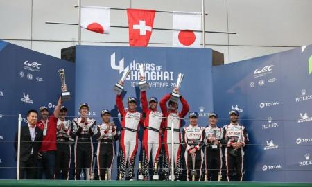 Dwie Toyoty na podium w Szanghaju