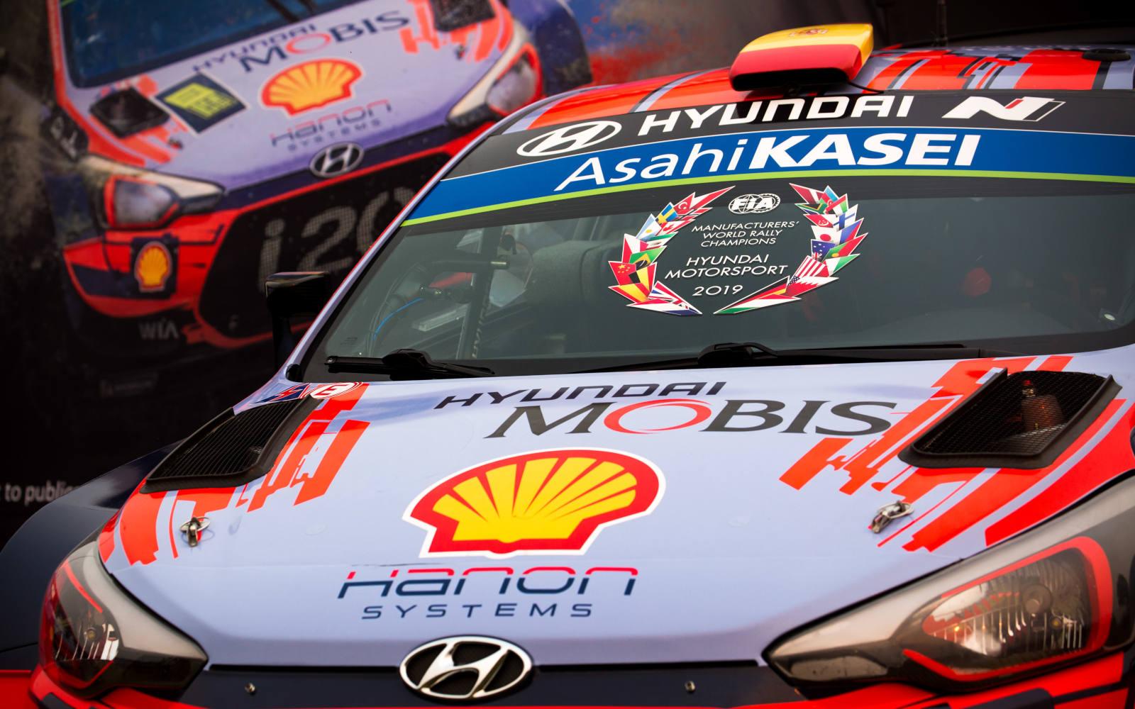 Hyundai Motorsport z mistrzowskim tytułem