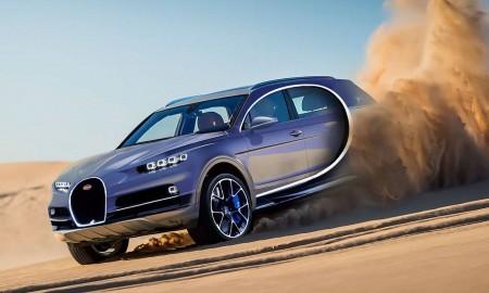 Nowy model Bugatti może być…