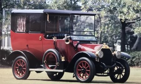 Mitsubishi Model A z tytułem Samochodu Historii