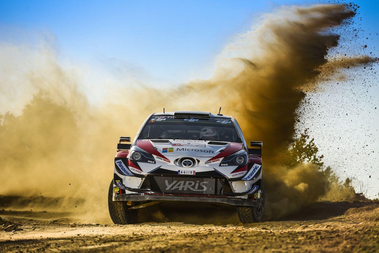 Toyota Yaris WRC Rajdowym Samochodem Roku 2019