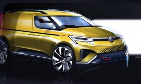 Nowy VW Caddy – Pierwsze szkice