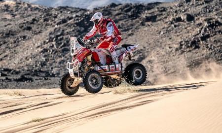 Rafał Sonik utrzymał drugie miejsce w Dakarze