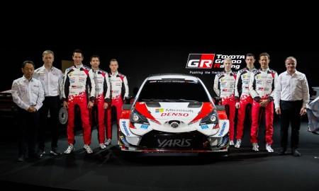 Nowy zespół rajdowy Toyoty na sezon 2020