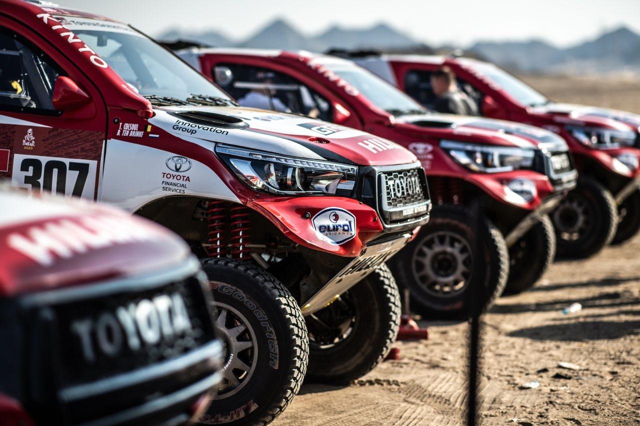 Toyoty w Rajdzie Dakar 2020