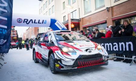 Kale Rovanperä wygrał 55. Arctic Lapland Rally 2020