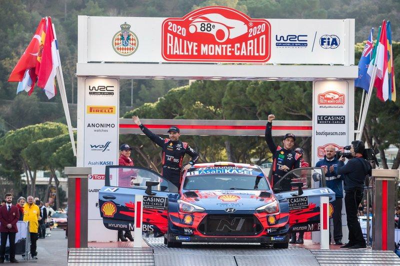 Thierry Neuville wygrał Rajd Monte Carlo