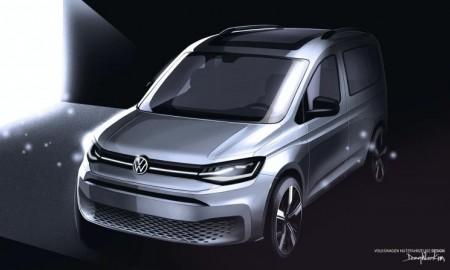VW Caddy na nowych szkicach