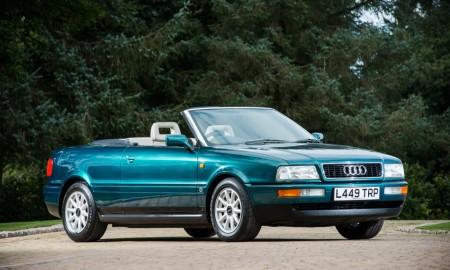 Audi 80 Cabriolet księżnej Diany na aukcji