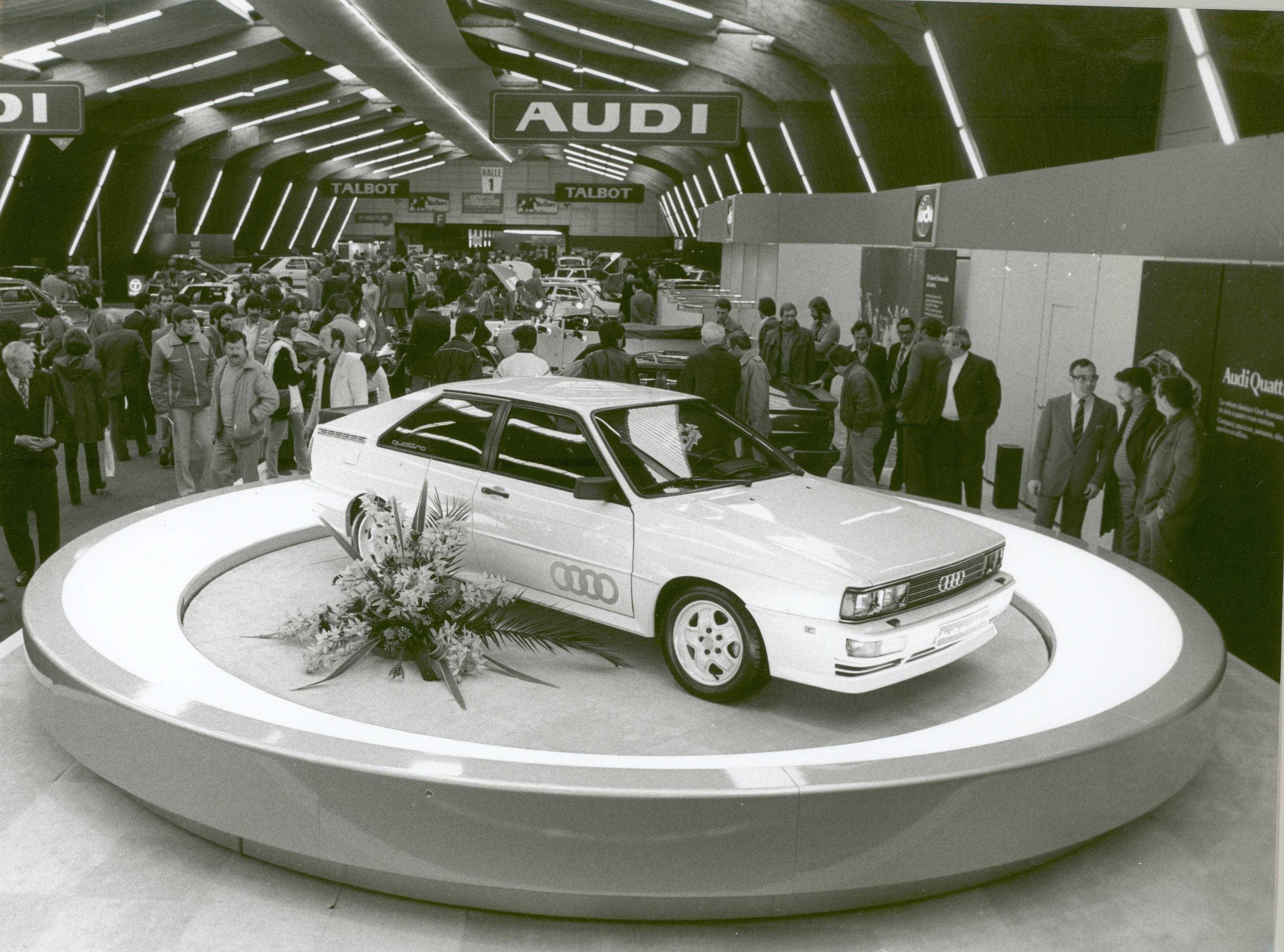 Audi Tradition świętuje 40. urodziny quattro