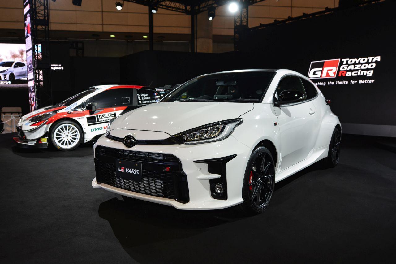 Toyota testuje GR Yarisa WRC na 2021 rok