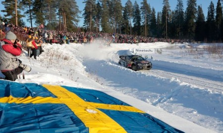 Rajd Szwecji mniej zimowy