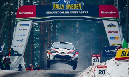 Pięć Yarisów WRC na starcie Rajdu Szwecji