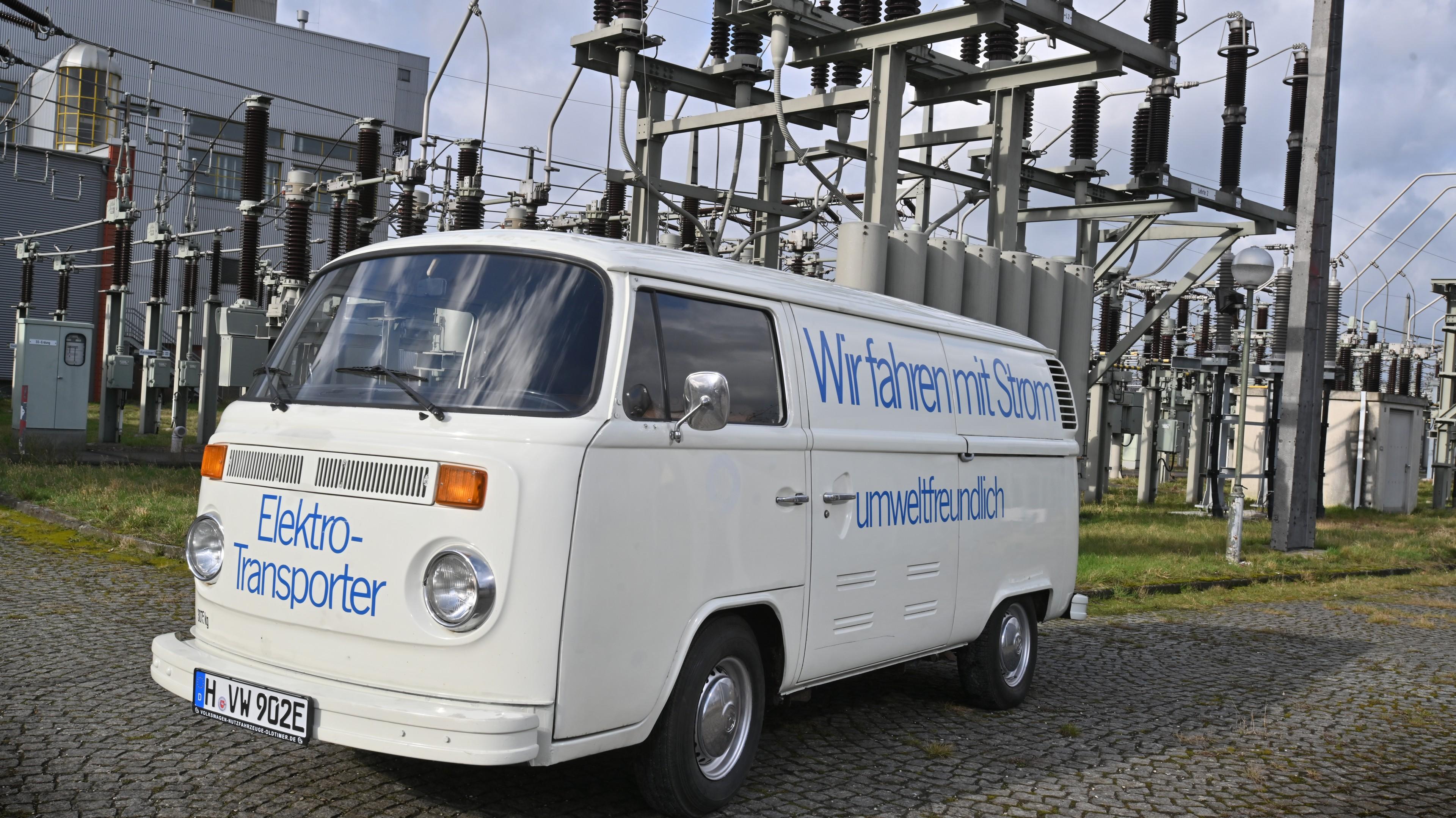 Volkswagen Elektro-Transporter na wystawie Techno Classica