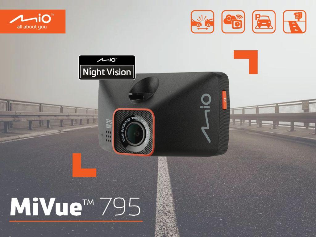 Mio Mi Viue 795 – rejestruje szczegóły nawet w nocy