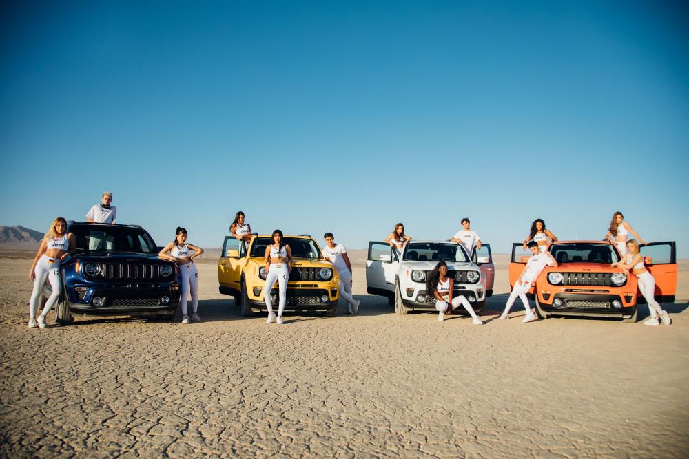 Jeep i zespół Now United