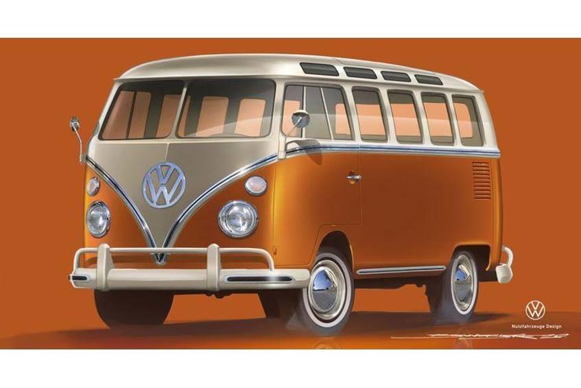 Premiera na Techno Classica 2020: VW e-Bulli