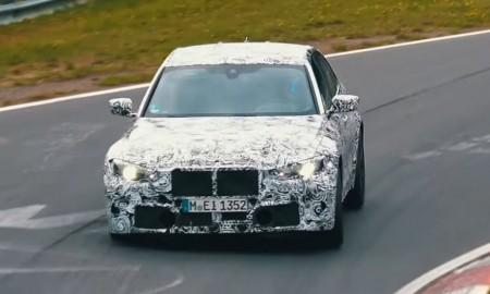 BMW M3 2021 w testach