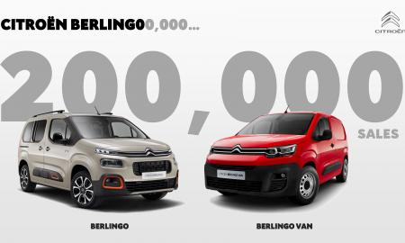 200 000 sprzedanych Citroënów Berlingo