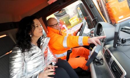 Ciężarówki w Wiedniu z obowiązkowym asystentem skrętu