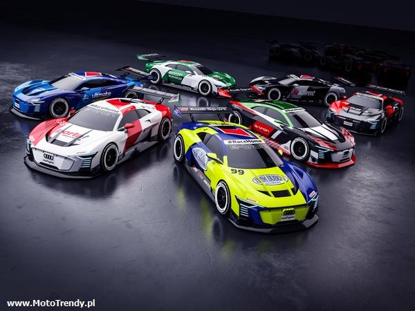 Kierowcy DTM ze stajni Audi w wirtualnych wyścigach